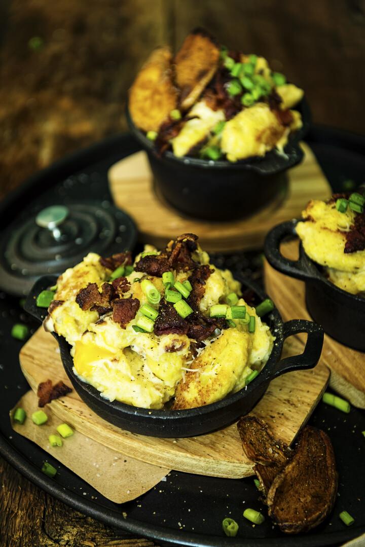 Triple Baked Idaho® Potato with A-1 Sauce
