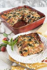 Spinach and Idaho® Potato Lasagna