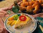 Country Quiche with Idaho® Potato Hash Brown Crust