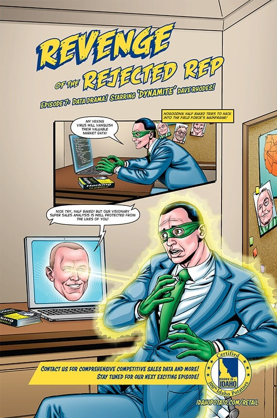 """Episode 7: Data Drama! Starring """"Dynamite"""" Dave Rhodes!"""