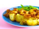 Idaho® Yukon Gold Potatoes with Bacon-Bourbon Shrimp