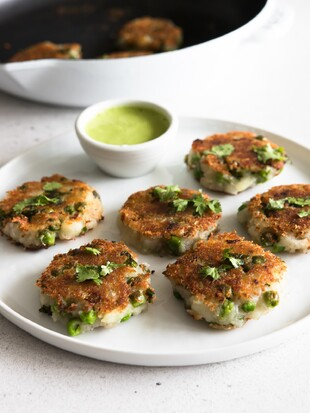 Aloo Tikki (Idaho® Potato Patties) with Chutney