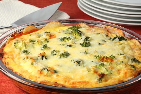 Idaho® Potato Dinner Pizza Frittata