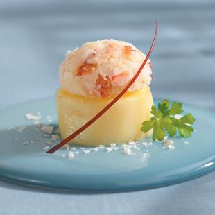 Confit of Idaho® Potato with Maine Lobster Mash