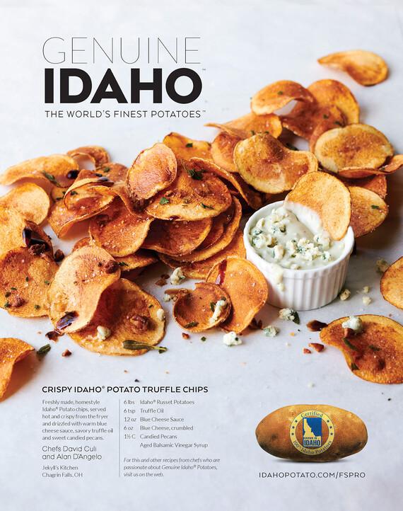Crispy Idaho® Potato Truffle Chips