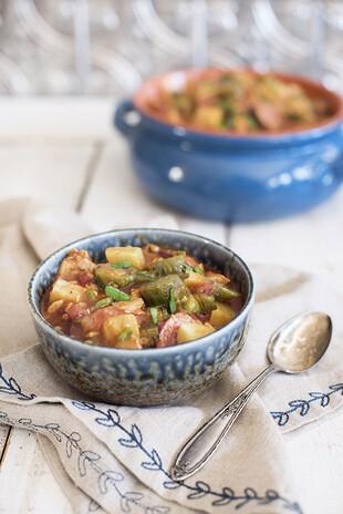 Chicken & Sausage Idaho® Potato Gumbo