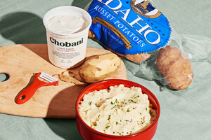 Idaho Potato Commission & Chobani Celebrate National Mashed Idaho® Potato Day