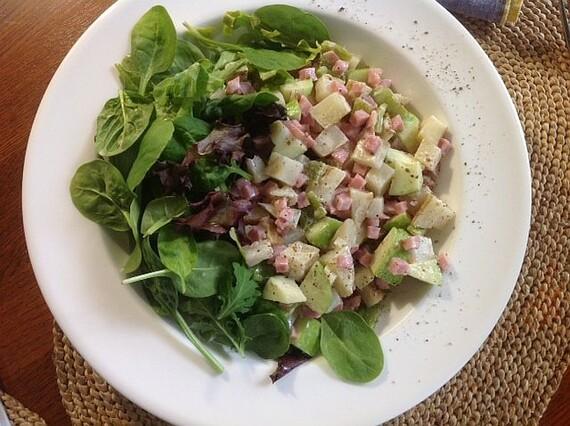 Southwest Chopped Idaho® Potato Salad For Two
