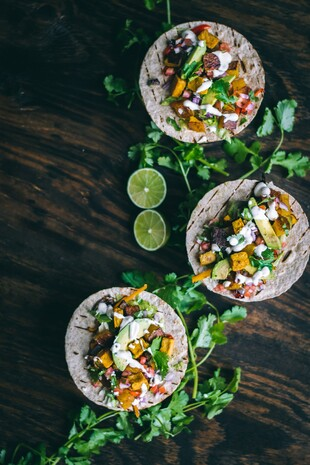 Vegan Sheet Pan Tacos