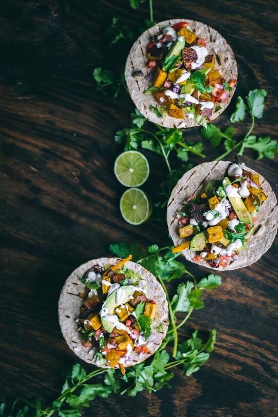 Vegan Sheet Pan Tacos