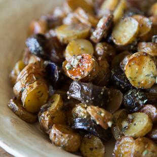 Warm Mustard and Herb Idaho® Fingerling Potato Salad
