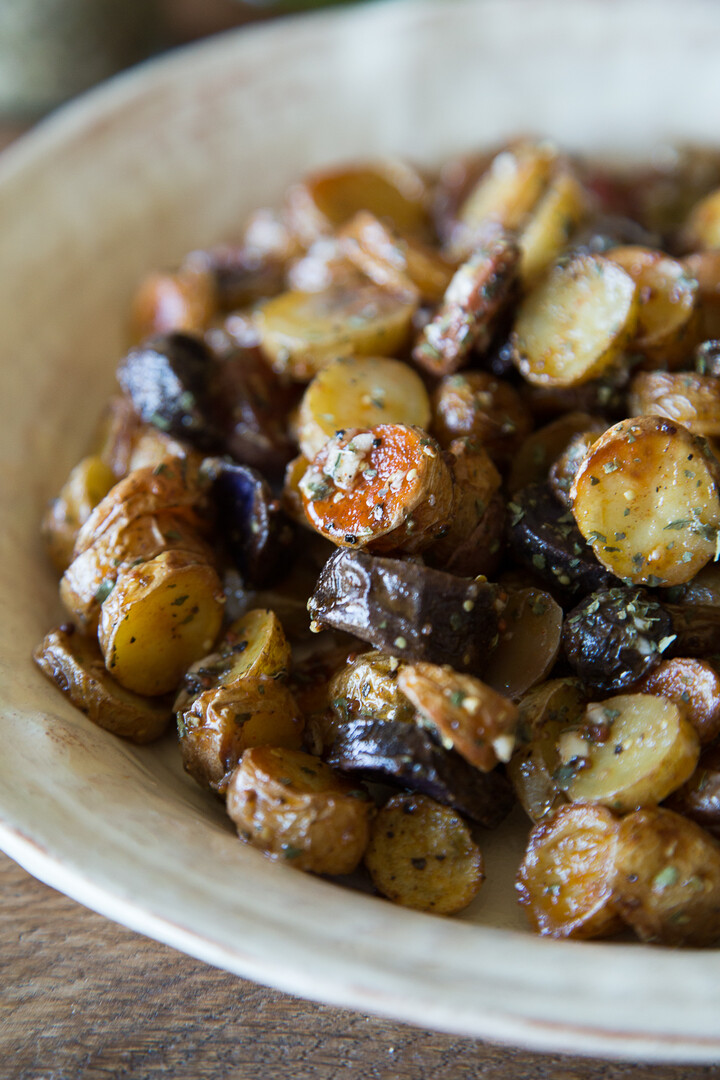 Warm Mustard and Herb Idaho® Fingerling Potato Salad