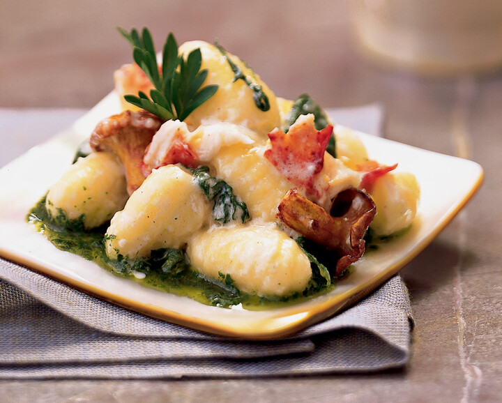 Idaho® Potato Gnocchi with Maine Lobster
