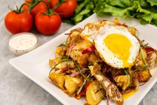 Crispy Torn Idaho® Potato and Litehouse® Ranch Bowls