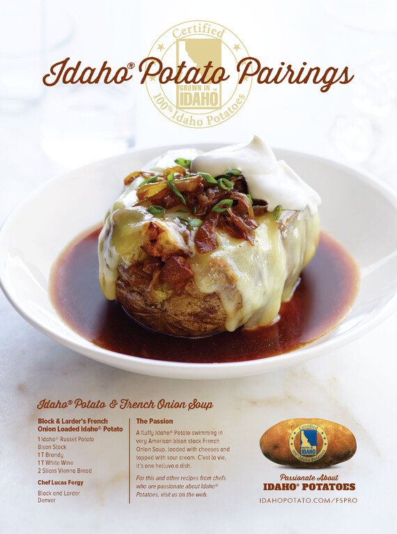 Block & Larder's French Onion Loaded Idaho® Potato