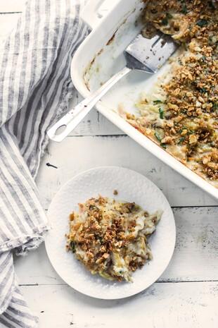 Broccoli Cheddar Funeral Potatoes