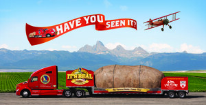 """Big Idaho Potato Truck Kicks off 2015 Tour with a New Mission That Serves """"A Big Helping"""" to Local Charities"""