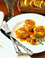 Apple & Potato Wrapped Pork Tenderloin