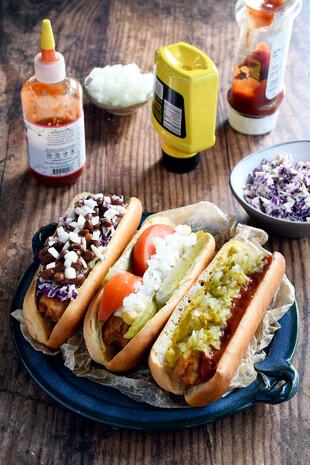 Gluten-Free Veggie Dogs