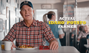 DON'T TURN THAT CHANNEL… FIND OUT IF THE FARMER FINALLY CATCHES THE  BIG IDAHO® POTATO TRUCK IN THE IDAHO POTATO COMMISSION'S TWO NEW TELEVISION COMMERCIALS!