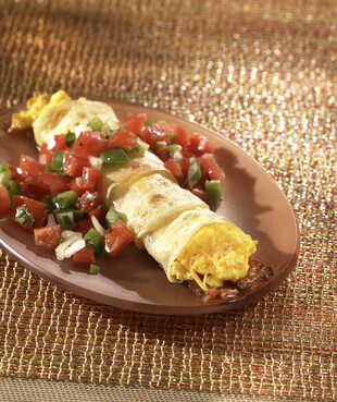 Idaho® Potato Breakfast Burrito