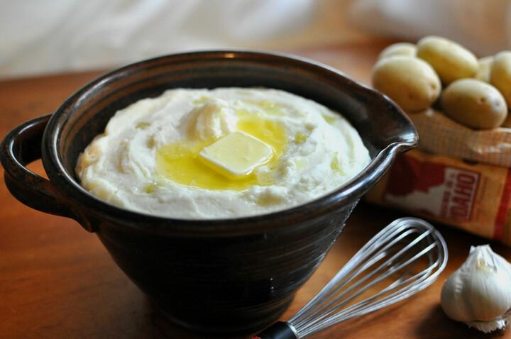 Garlic Mashed Idaho® Potatoes