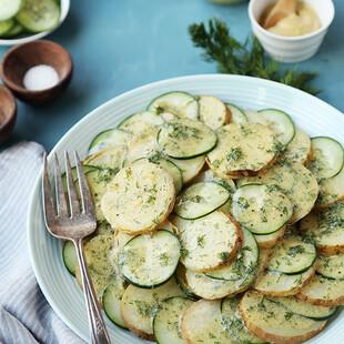 Idaho® Potato, Cucumber and Dill Salad