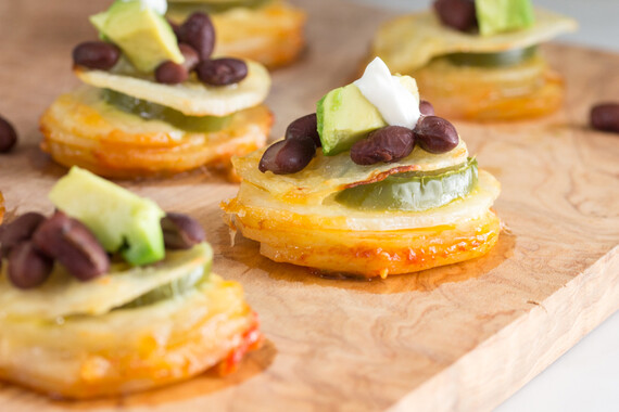 Idaho® Potato Nacho Stacks