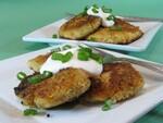 Mini Idaho® Potato & Salmon Pancakes