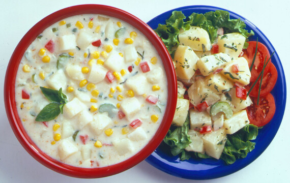 Old-Fashioned Idaho® Potato Salad and Idaho® Potato Chowder