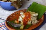 Idaho® Potato and Pork Tamal de Cazuela (Tamale Casserole)
