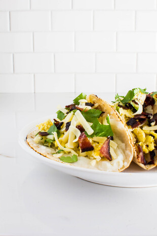 Mashed Potato Breakfast Tacos