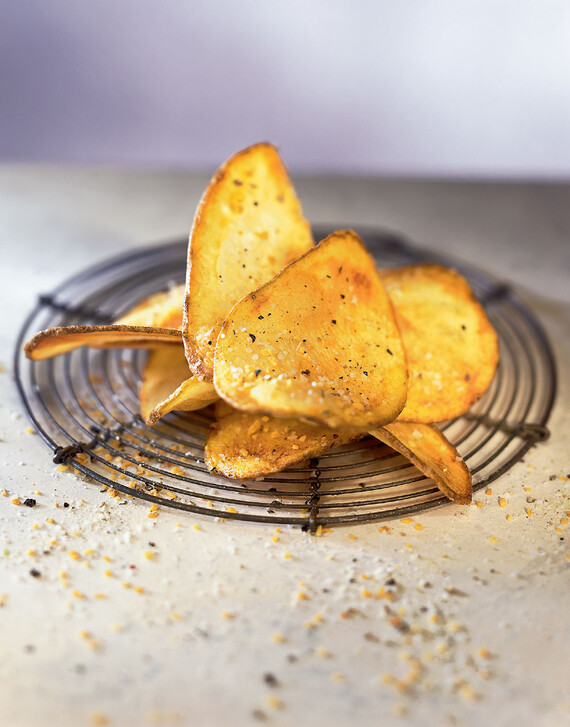 Wasabi-Dusted Chips