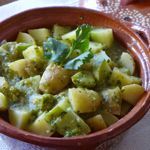 Idaho® Potato and Chayote Stew