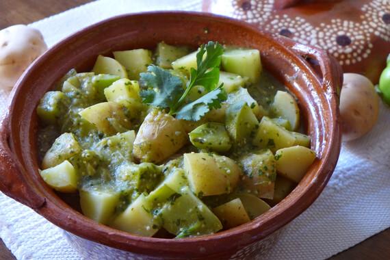 Idaho® Potato and Chayote Stew