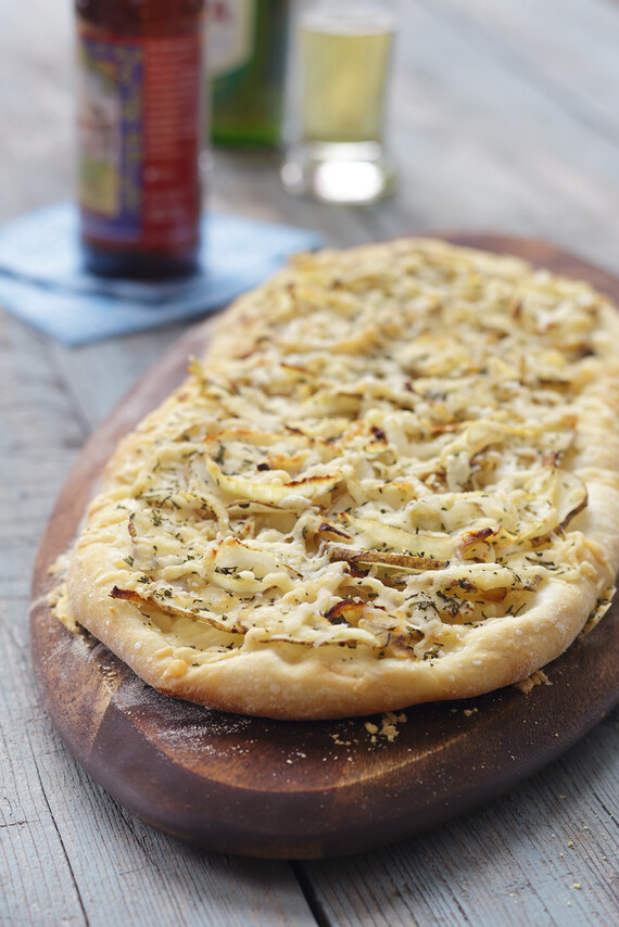 Potato Rosemary Flatbreads