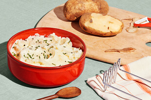 Mashed Idaho® Potatoes with Chobani® Greek Yogurt