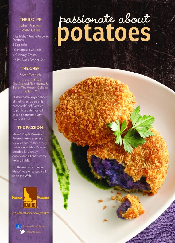 Idaho® Peruvian Potato Cakes