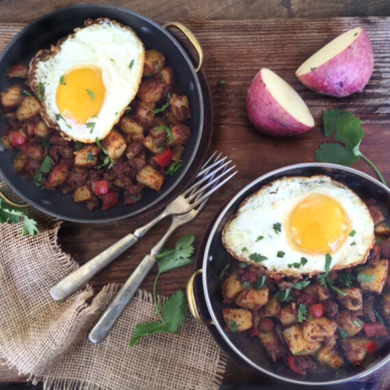Idaho Red Bliss Potato and Chorizo Hash
