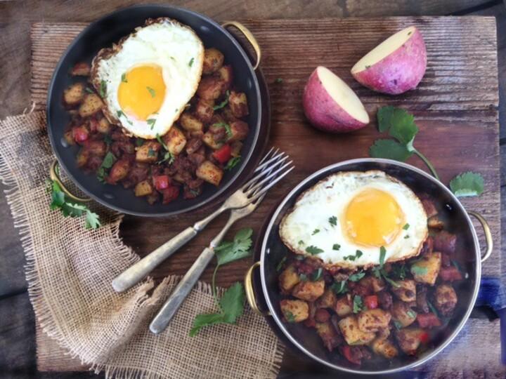 Idaho Red Bliss Potato and Chorizo Hash