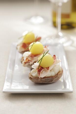 Lobster Potato Skins