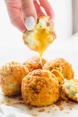 Cheese Stuffed Potato Balls