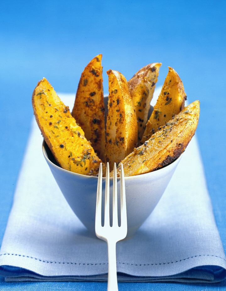Grilled Crispy Idaho® Potato Wedges