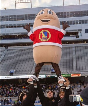 Who's The #1 College Football Bowl Mascot? The Idaho Potato Commission's One And Only Spuddy Buddy!