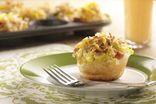 Idaho® Potato Cheesy Biscuit Scramble