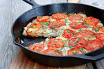 Idaho® Potato-Tomato Pie
