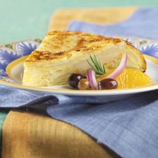 Spanish Omelet/Tortilla De Patatas