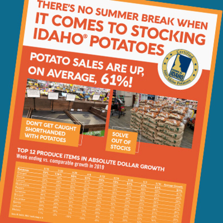 Potato Category Summer Selling