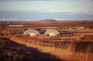 Potato cellars in Eastern Idaho
