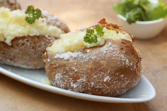 Twice Baked Truffled Idaho® Potatoes